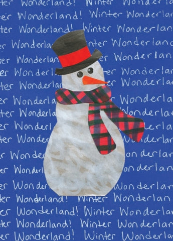 Snowman Winter Wonderland Cards (12 pack)