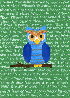 Owl Blank Card (6-pack)