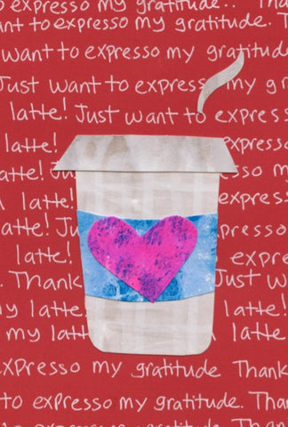 Expresso Thanks Blank Cards (6-pack)