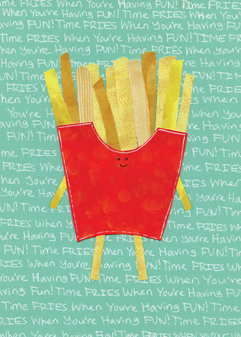 French Fries Cards (6-Pack)