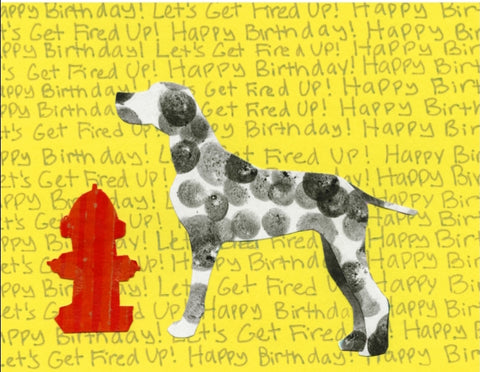 Dalmatian Birthday Card (6-pack)