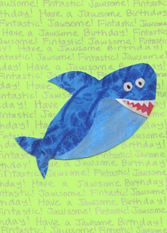 Fintastic Shark Birthday Card (6-pack)
