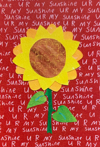 Sunflower Sunshine Single Magnet