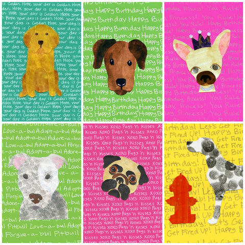 Canine Cuties Assortment Blank Cards (6-pack)