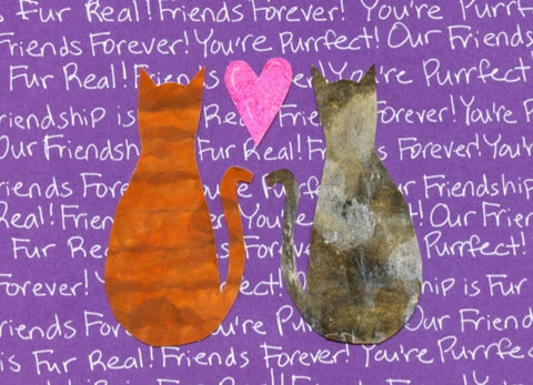 Fur-Real Friends Blank Card (6-pack)
