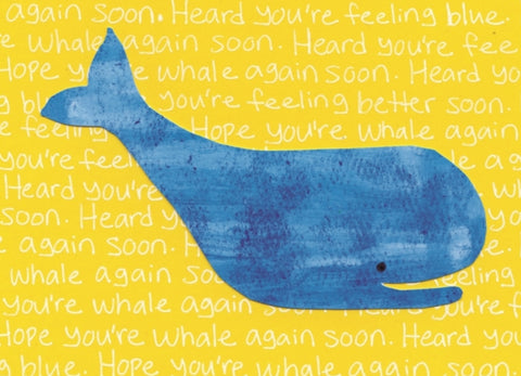 Get Whale Soon Blank Card (6-pack)
