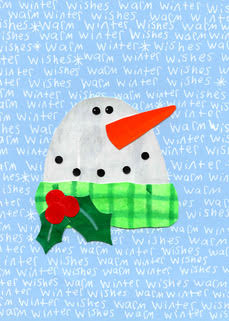 Snowman Winter Wishes (12-pack)