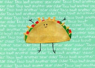 Taco Blank Cards (6-pack)