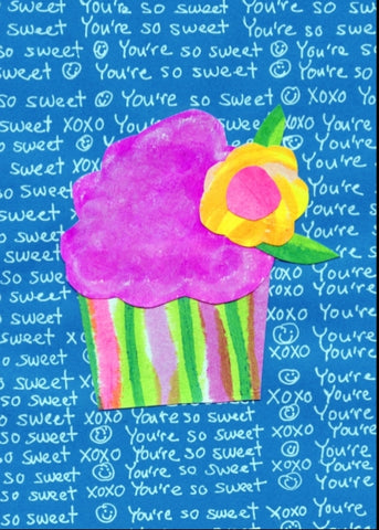 Cupcake UR Sweet Greeting Card (6-pack)