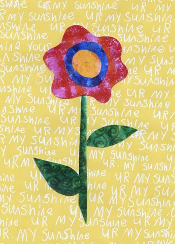 Sunshine Flower Greeting Card (6-pack)