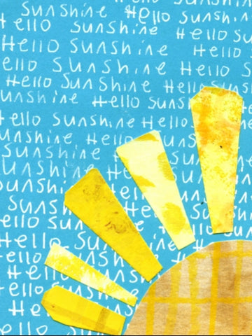 Hello Sunshine Blank Card (6-Pack)