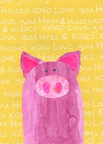 Hogs N Kisses Card (6-Pack)