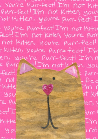 Kitten Purrfect Blank Cards (6-pack)