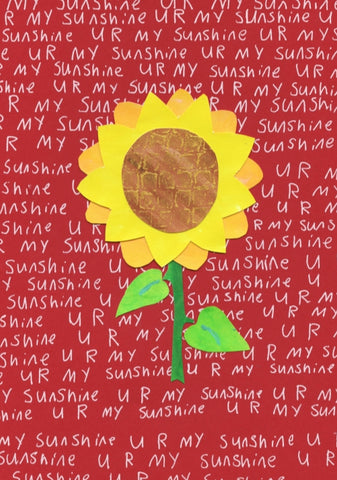 Sunflower Sunshine Blank Cards (6 pack)