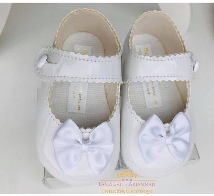 BABY GIRLS SOFT SOLE SHOES