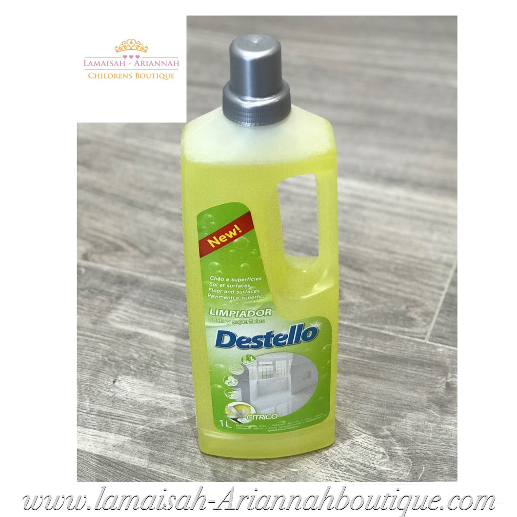 Destello Concentrated Floor & Surface Cleaner 1L - Citrus
