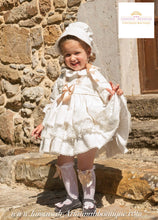 "Load image into Gallery viewer, CREAM RUFFLES DRESS ""SOLE"""