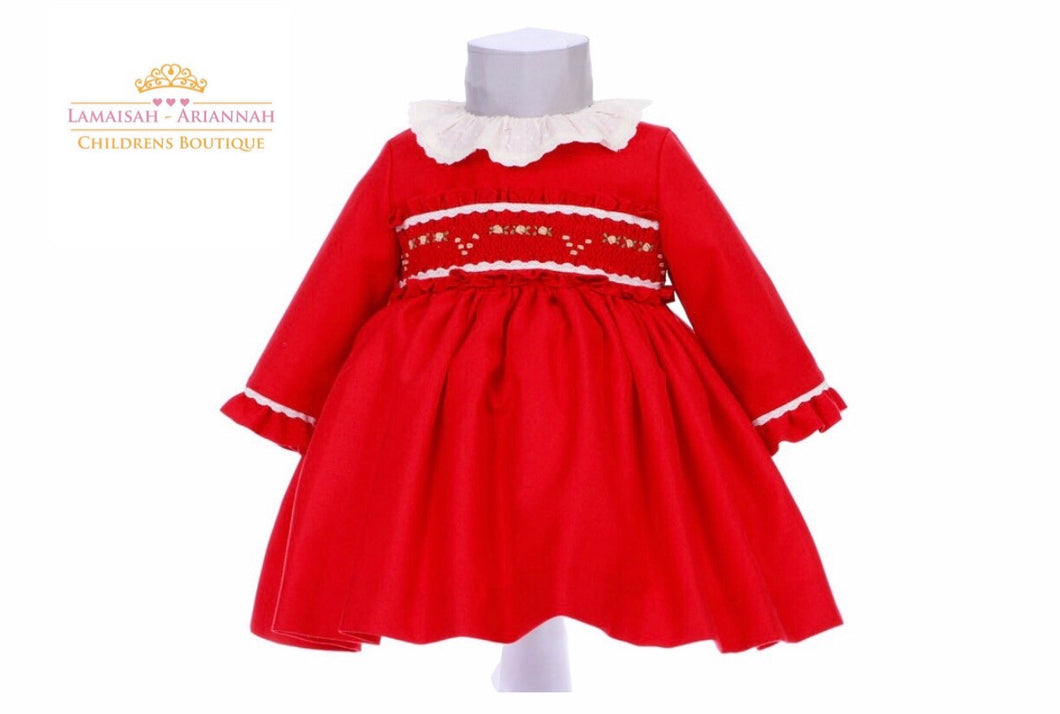 Smock Puffball Dress. Mod 623