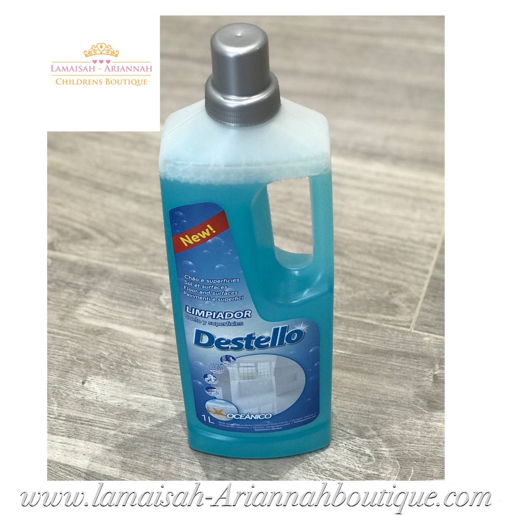 Destello Concentrated Floor & Surface Cleaner 1L - Oceanico