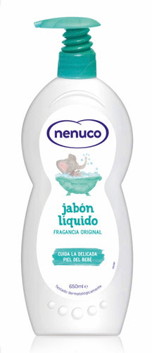 Nenuco Bath Soap/ Shower Gel With Pump