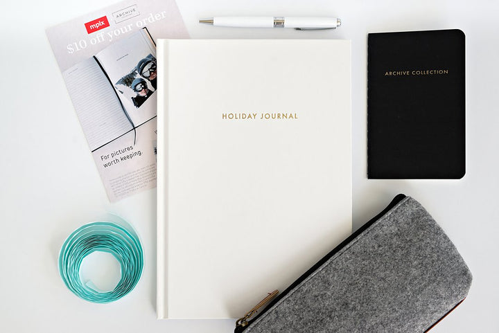 With the Holiday Journal Kit you have EVERYTHING you need to quickly and easily document your family's holiday memories throughout the year!