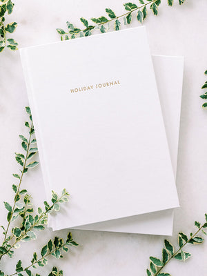 Holiday Journal by Archive Collection styled