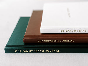 Three special journals by Archive Collection, Travel, Grandparent, Holiday
