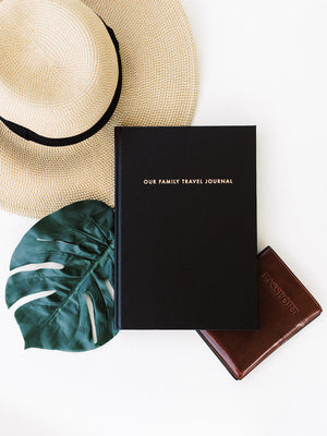 Our Family Travel Journal Archive Collection Passport Hat