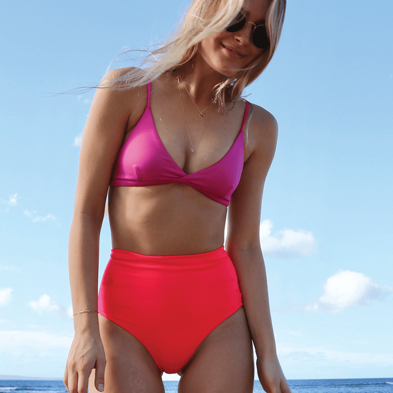 Sweet Victory Top - Hot + Hi Tide Bottom - Rescue