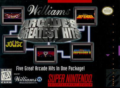 Williams Arcade's Greatest Hits - SNES (Pre-owned)