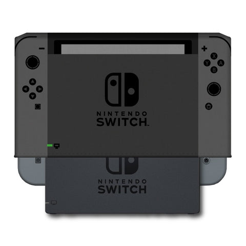 Nintendo Switch Console and Dock Dust Cover - Vinyl (Gray)