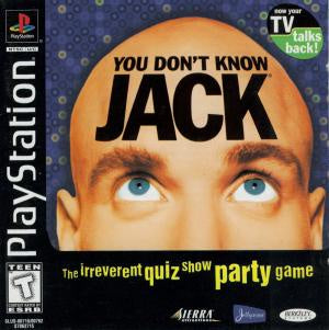 You Don't Know Jack - PS1 (Pre-owned)