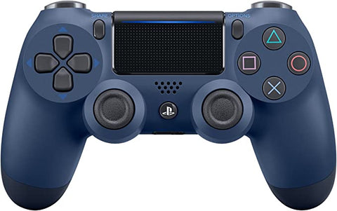 (Front Lit) DualShock 4 PlayStation 4 Controller Wireless Controller PS4 (Midnight Blue) - PS4 (Pre-owned)