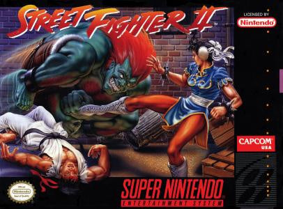Street Fighter II - SNES (Pre-owned)