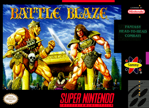 Battle Blaze - SNES (Pre-owned)