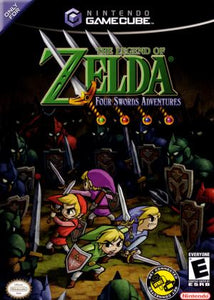 The Legend of Zelda: Four Swords Adventures (No Cable) - Gamecube (Pre-owned)
