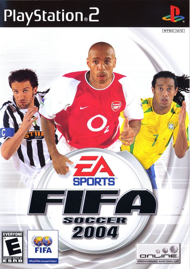 FIFA Soccer 2004 - PS2 (Pre-owned)