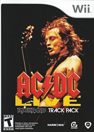 AC/DC Live Rock Band Track Pack - Wii (Pre-owned)