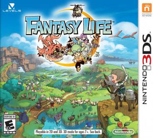 Fantasy Life - 3DS (Pre-owned)