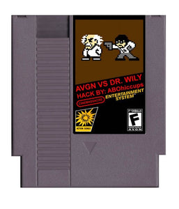 AVGN vs Dr. Wily (Reproduction) - NES (Pre-owned)