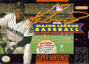 Ken Griffey Jr Major League Baseball - SNES (Pre-owned)