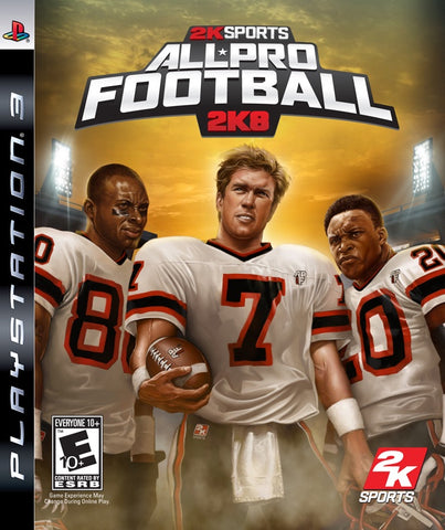 All Pro Football 2K8 - PS3 (Pre-owned)