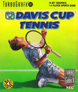 Davis Cup Tennis (No Cardboard) - TurboGrafx-16 (Pre-owned)