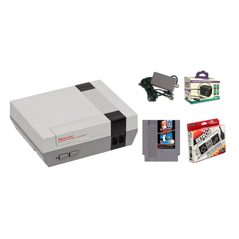 Nintendo NES System Console with Super Mario/Duck Hunt