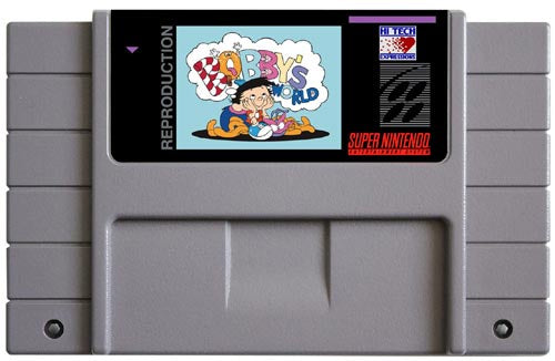 Bobby's World (Reproduction) - SNES (Pre-owned)
