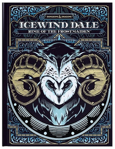 Dungeons & Dragons Icewind Dale Rime of the Frostmaiden (Alternate Art Hard Cover Hobby Exclusive)