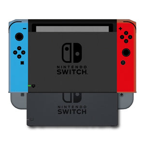 Nintendo Switch Console and Dock Dust Cover - Vinyl (Neon Blue/Neon Red)