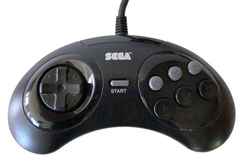 Genesis Controller 6-Button Official Sega Original Game Pad