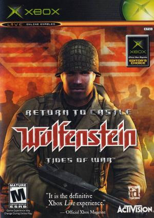Return to Castle Wolfenstein - Xbox (Pre-owned)