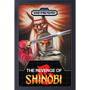 Sega Classics The Revenge of Shinobi 11″ x 17″ Framed Print [Pyramid America]